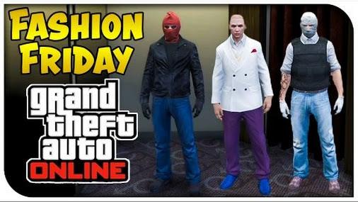 GTA 5 Online - FASHION FRIDAY! (Red Hood Kingpin U0026 Joshua Graham) [GTA V Coolu2026