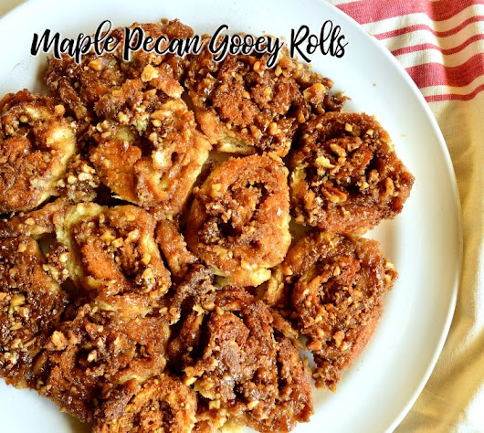 Skillet Maple Sticky Buns - This Is How I Cook
