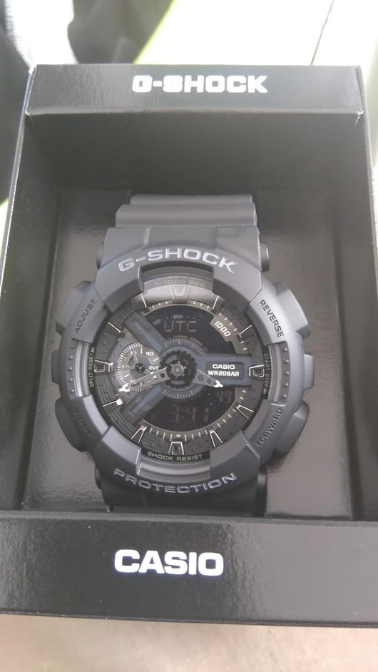 "Smiley Langa on Twitter: ""My mother got me this awesome present, a Casio G-Shock kick ass wrist watch. Thanks mom. I love you. """