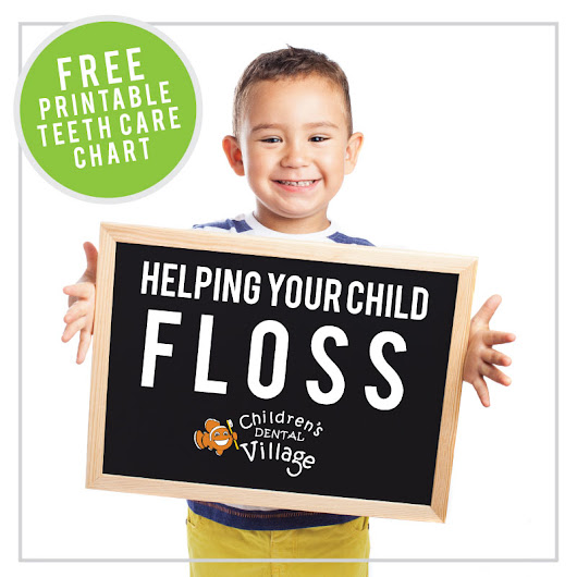 Helping Your Child Floss | Children's Dental Village