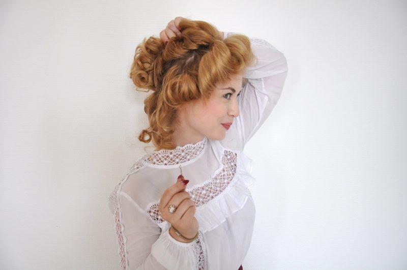 Edwardianische Frisur Step By Step Von Gibson Girls Und Suffragetten