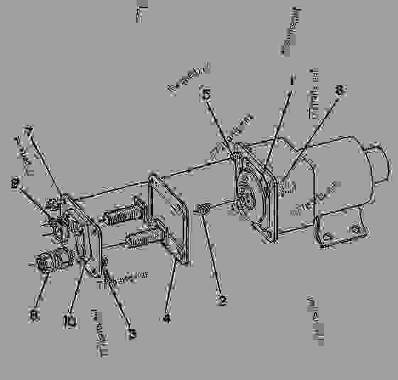 Wiring Diagram For Generator Cat