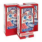 Bicycle Jumbo Playing Cards 3-Pack (36 Decks)