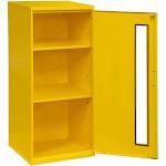 Durham 052-50 Steel Spill Control & Respirator Cabinet Yellow