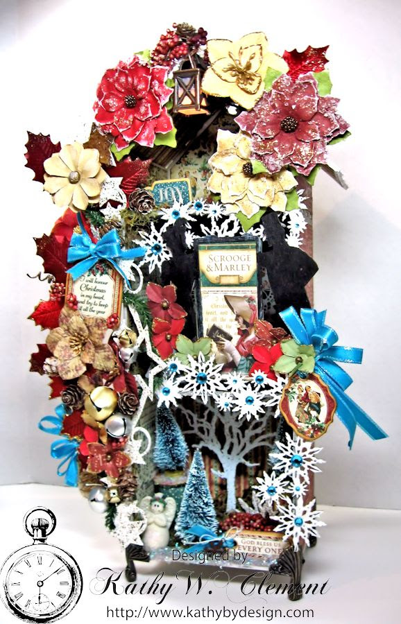 Kathy by Design/Gypsy Soul Lasercuts Christmas House 02