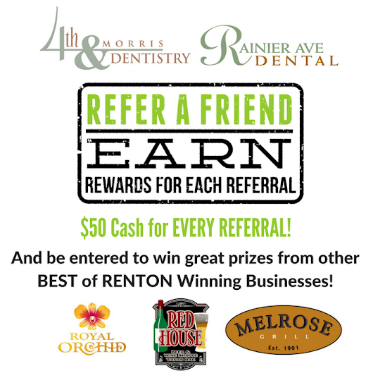 Patient Referrel Contest - Renton Dentist - Seattle Dentist – Kim and Kim Dentistry - Renton & South Seattle Dentist in Sedation, Cosmetic, General, Same Day Crowns, Dental Implants and Gentle Dental