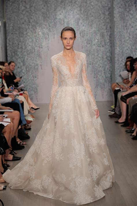 The Best Long Sleeve Wedding Dresses at Bridal Fashion Week