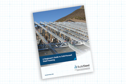 eBook: Cold-Formed Steel Framing: Engineering the Details of Your Next Project