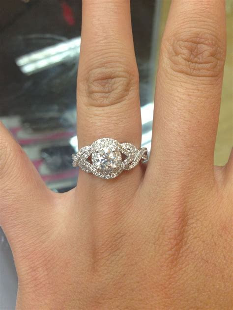 My engagement ring! From Kay Jewelers!:)   Crystal