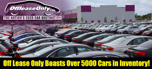 Off Lease Only Boasts More than 5,000 Used Cars, Trucks, SUV's & Vans for Sale!