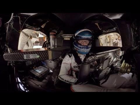 Una vuelta a La Sarthe a bordo de un LMP1 desde todos los ángulos
