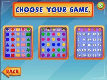 Nick Jr. Bingo Download   Beautiful bingo game for kids of