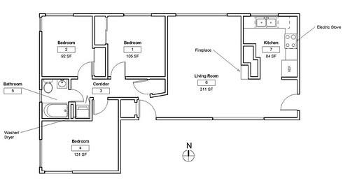 2 Bedroom Apartment Building Plans