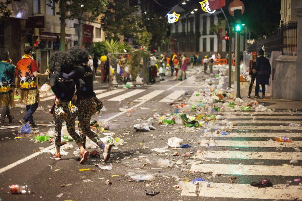 Resultado de imagen de podemos residuos, carnaval tenerife