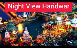 Night view Haridwar  🌃 City Night Life