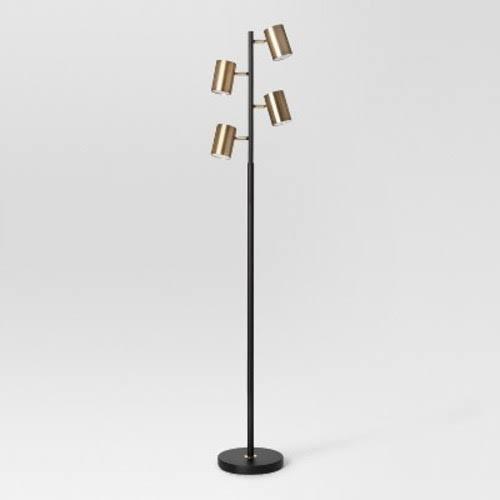 Dean Spotlight Floor Lamp Black Br Project 62