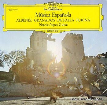 YEPES, NARCISO musica espanola