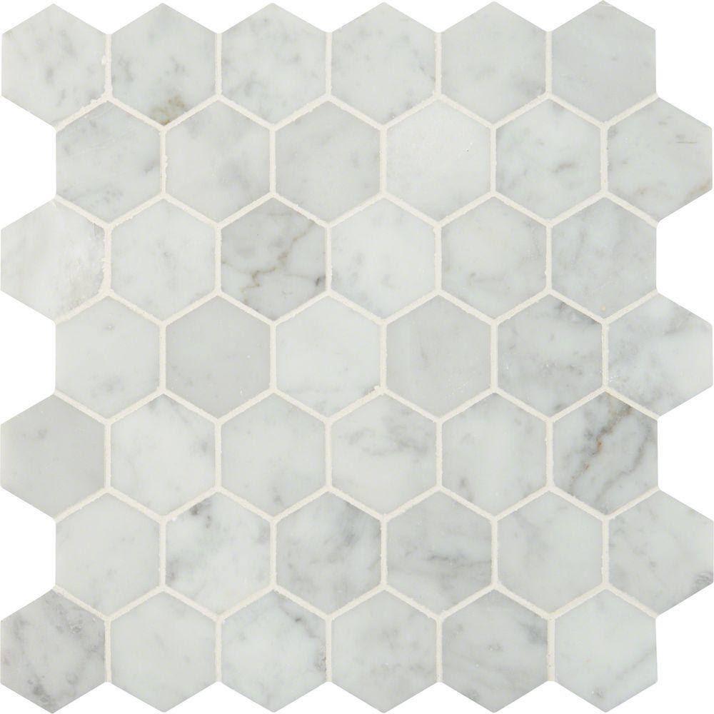 Daltile Addison Place 11 3/4-inch x 12 7/8-inch x 8 mm Hexagon ...