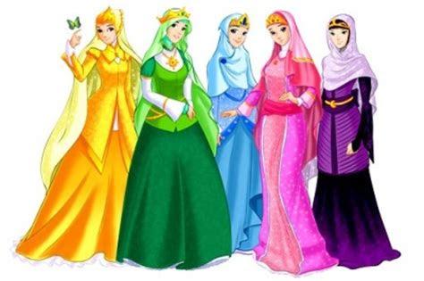 purplegirl anime wanita muslimah