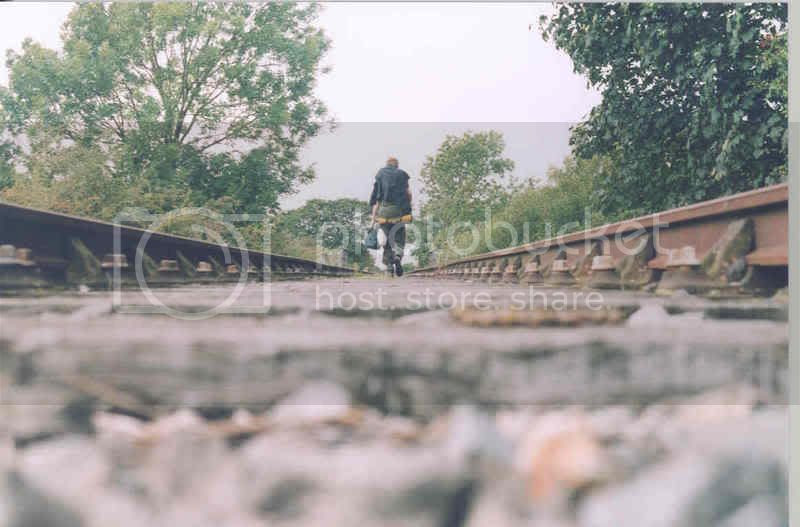 Walking the tracks, LEJOG 2004