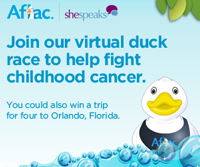 RSVP for the #AflacKids Swim With Friends Twitter Party Thursday 9/6 at 9pm ET!
