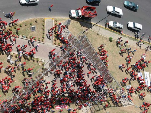 foto aerea marcha chavista