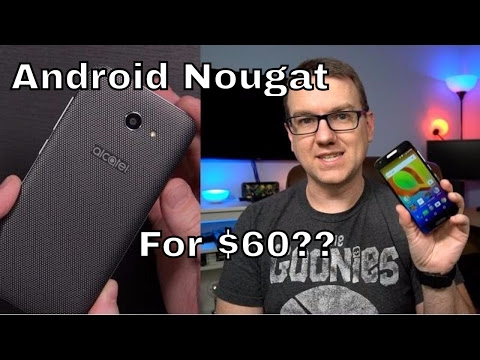 $60 Android 7.0 Budget Phone? Alcatel A30 with Amazon Ads