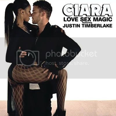 Official UK 'Love Sex Magic' single cover