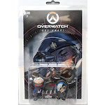 Overwatch Ana & Soldier 76 Clip On Hanger 2-Pack