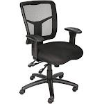 High-Back Mesh Ergonomic Multi-Function Task Chair Black (BIFMA)