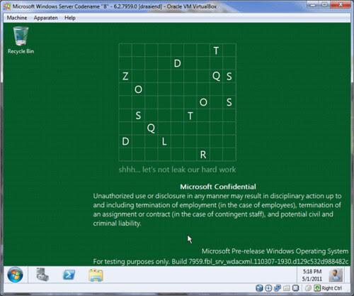 Windows 8 build 7959