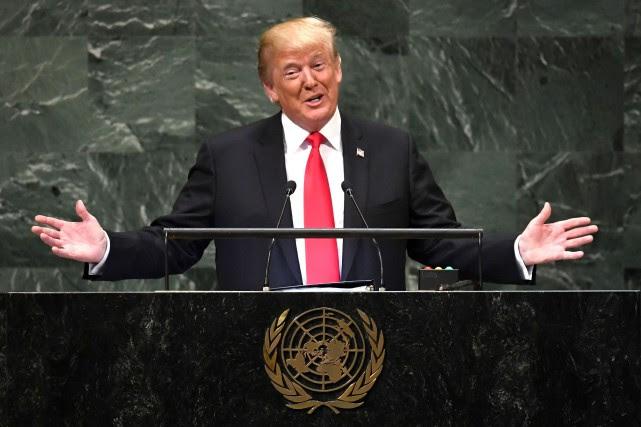 «Nous défendons nombre de ces nations pour rien... (AFP)