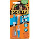 Gorilla 7800109 Incredibly Strong Super Glue, 3-gram, 2-pack