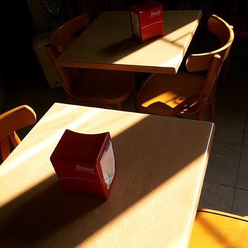 #melancoly #coffeehouse #coffeeshop #café #shadows #melancholy by Joaquim Lopes