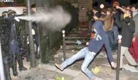 Detención de musulmana provoca disturbios en Francia