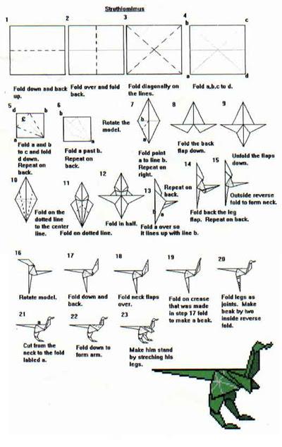 8000 Gambar Cara Membuat Origami Dinosaurus Hd Paling Baru Gambar Id