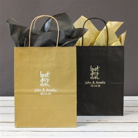 1000  ideas about Wedding Gift Bags on Pinterest   Welcome