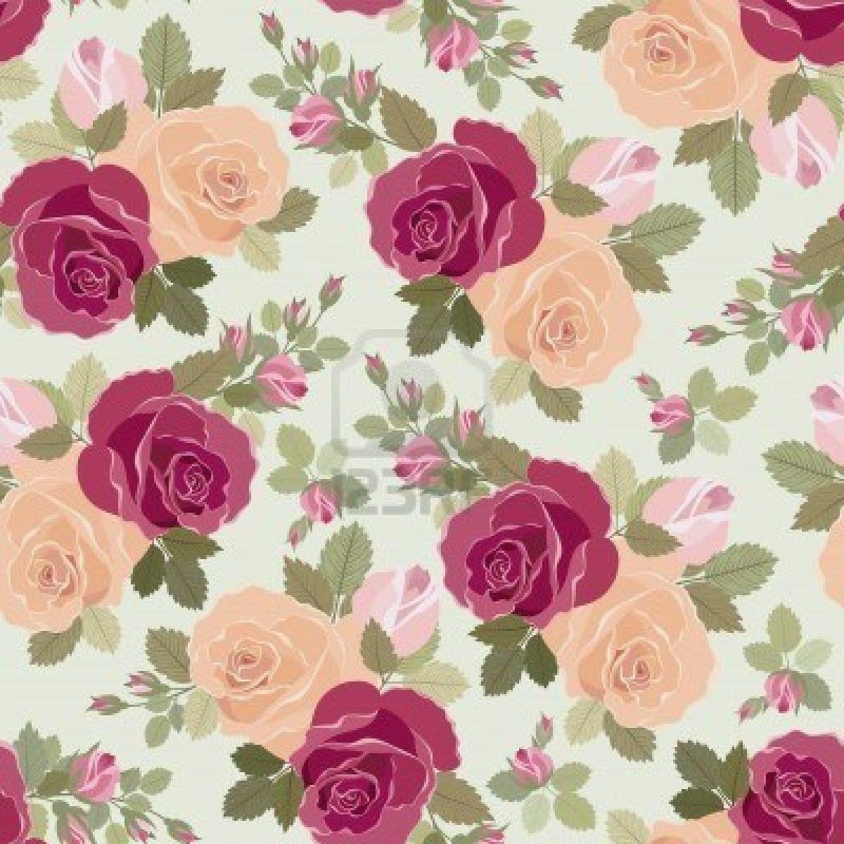Vintage Flower Wallpaper Sf Wallpaper