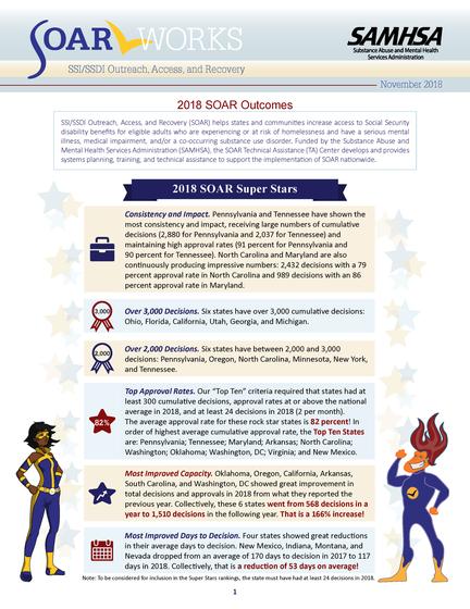 2018 SOAR Outcomes