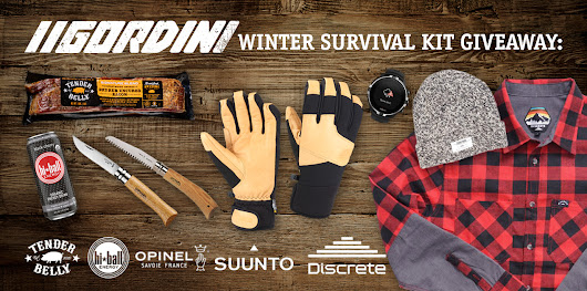 Gordini Winter Survival Kit Giveaway