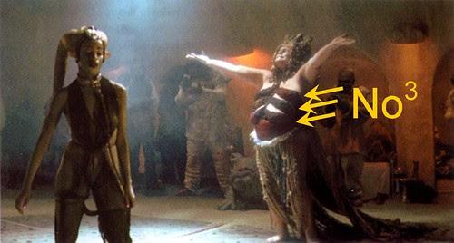 Star Wars Jabba the Hut Dancers New
