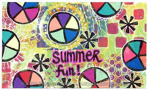 """""""Summer Fun"""" ICAD : 7-3-13"""