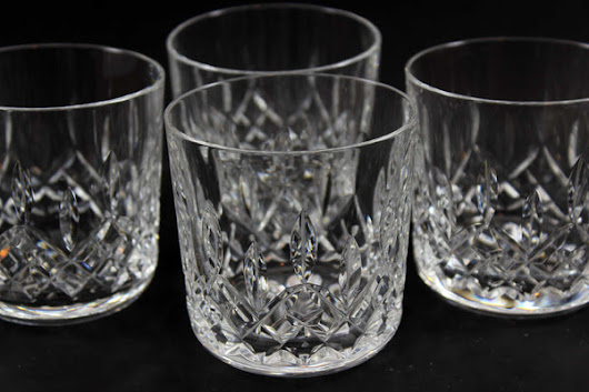 Waterford Crystal, Lismore Rocks Glasses (4)
