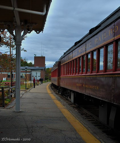 The Valley Train Waits at the Station