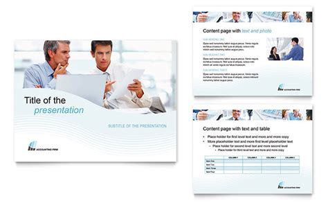 Accounting Firm PowerPoint Presentation   PowerPoint Template