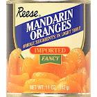 REESE MANDARIN ORANGE SEGMENTS-11 OZ -Pack of 24