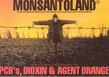 Monsanto is the main company behind genetically modified food.