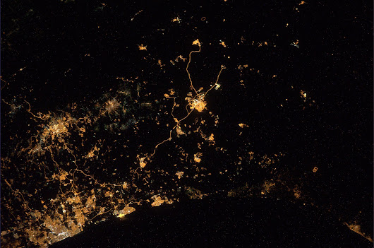 The war in Gaza as seen from space: Astronaut shares wrenching photo
