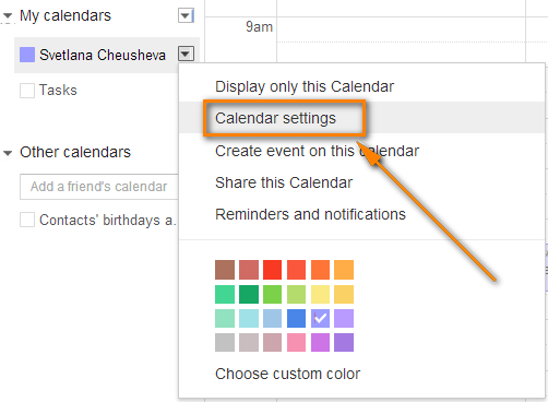 Sync Google Calendar with Outlook 2010 and 2013
