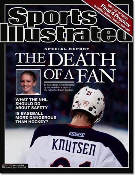 Gadis Remaja Tewas Terhantam Hockey Puck